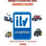 CAMPAÑA ITV PARA CICLOMOTORES, QUADS, CUADRICICLOS Y TRACTORES.