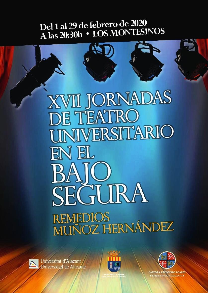 XVII Jornadas Teatro Universitario en Los Montesinos