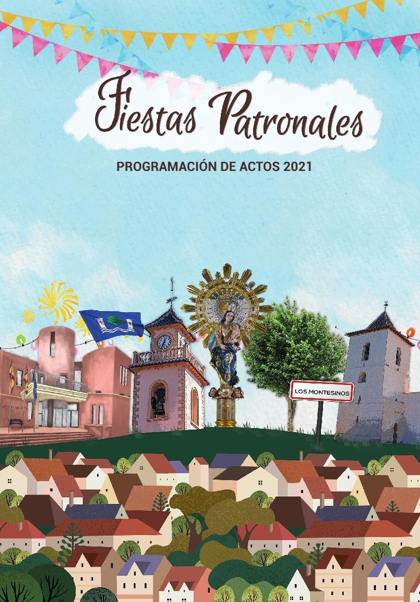 Programación para las Fiestas Patronales de Los Montesinos 2021