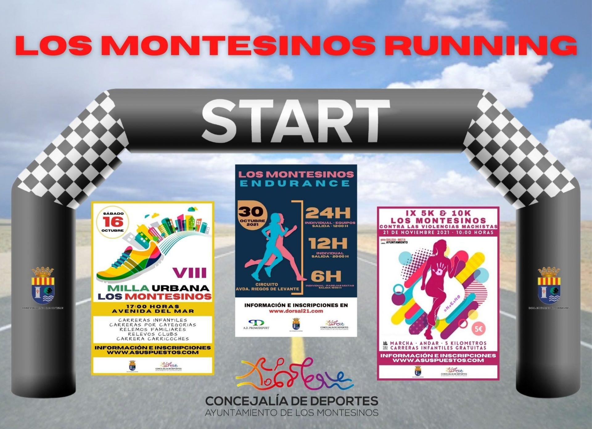 Circuito de Carreras 'Los Montesinos Running' 2021